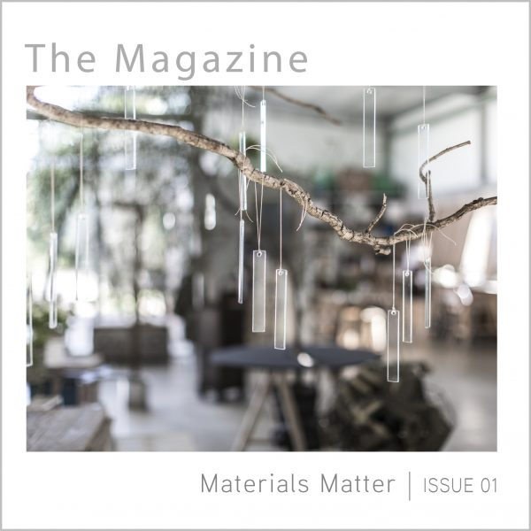 ‏ Visual Documentary  | issue 01  | Materials Matter