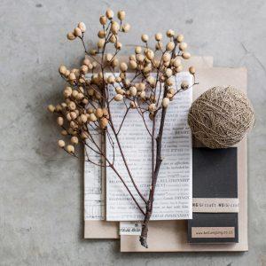 מארז מחברות מנייר ממוחזר | two Notebooks & one Memo