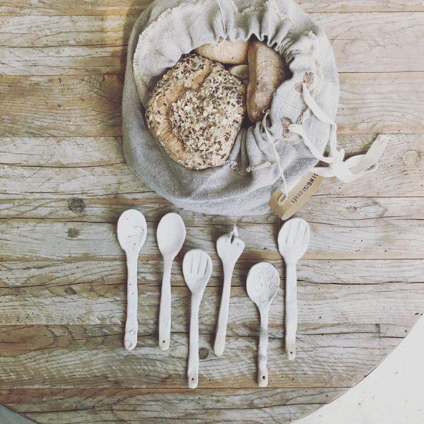 סלסלת לחם מפשתן |  Linen Bread Bag