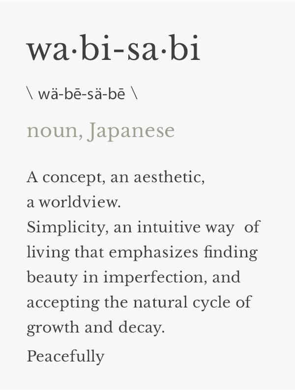 וואבי סאבי הגדרה